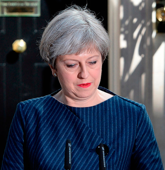 'The job of Home Secretary is agreed to be the most difficult in British political life, and Mrs May was one of the longest serving ever, described by one junior minister as 'a fierce manager of her team'' Photo: John Stillwell/PA Wire
