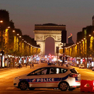The Champs-Elysees after the lockdown last week following the Islamist attack in which a French police officer was murdered