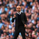 Pep Guardiola: 'I came here to prove myself'. Photo: Getty