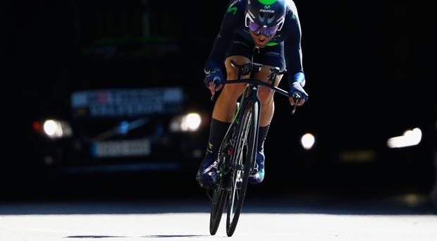 Alejandro Valderde in action during last year's Tour de France. Photo: Getty Images