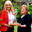 Outstanding: RTE's Miriam O'Callaghan presents Dearbhail McDonald with her latest award Photo: Domnick Walsh