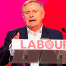 Powerful speech: Labour leader Brendan Howlin Photo: Mary Browne