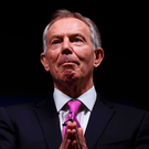Former British prime minister Tony Blair Photo: REUTERS/Toby Melville