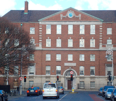 Long standing: The national maternity hospital at Holles Street in Dublin city centre