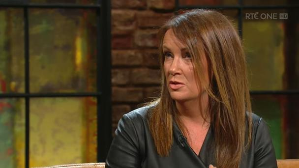 Dr Ciara Kelly on the Late Late Show