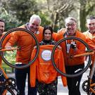 (Left to right) Jim Breen, Brent Pope, Charlene McKenna, Colm Hayes, Oisin McConville