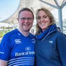 Niall Buckley, 34 and wife Jennifer Fitzgerald