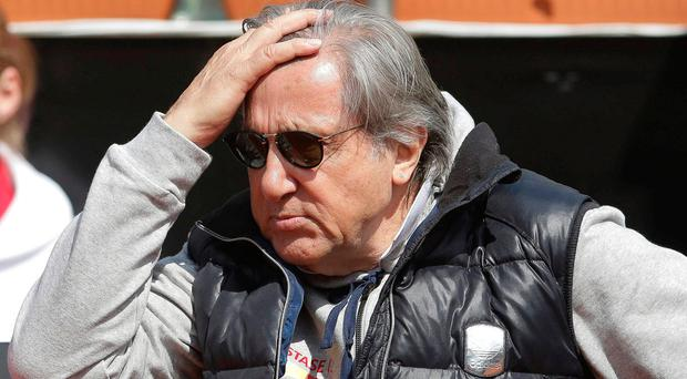 Romanian head coach Ilie Nastase. Photo: REUTERS