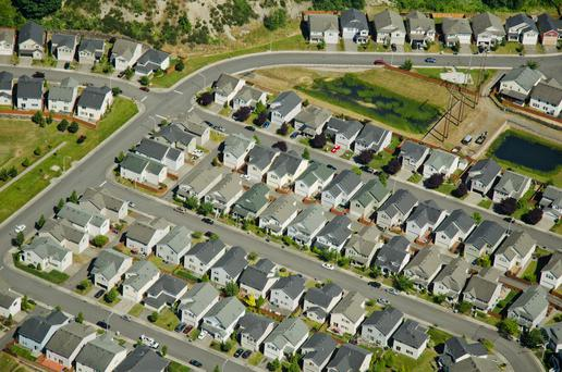 Almost 33,500 mortgages on family homes are in arrears of more than two years, with outstanding debts totalling €7.5bn. Stock picture