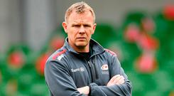 Saracens Director of Rugby Mark McCall. Photo: Ramsey Cardy/Sportsfile