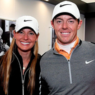 Rory and Erica Picture: Getty