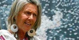 Renowned conservationist Kuki Gallmann. Photo: AFP/Getty Images