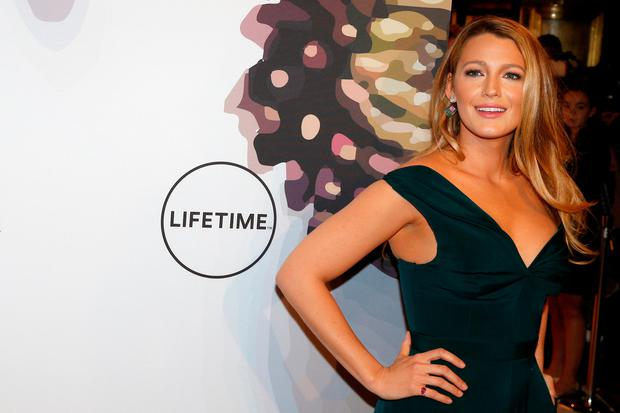 Actress Blake Lively arrives for Variety's Power of Women luncheon in New York City, U.S., April 21, 2017. REUTERS/Brendan McDermid