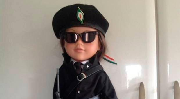 One of Mariea's controversial IRA dolls