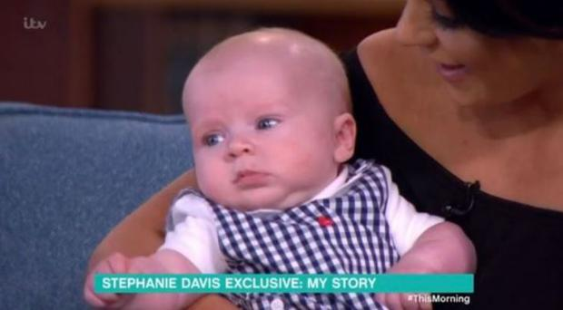 Stephanie Davis and Jeremy McConnell's son Caben