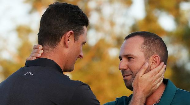 Justin Rose will be in Portstewart but Sergio Garcia has yet to confirm. Photo: Getty Images