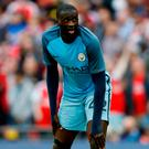 Toure: Unhappy with referees. Photo: Carl Recine/Reuters