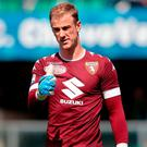 Torino FC's Joe Hart. Photo: Emilio Andreoli/Getty Images