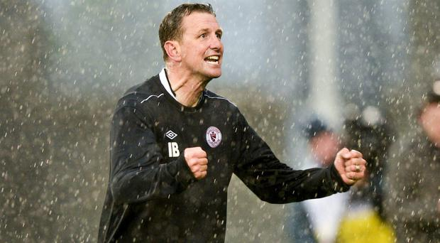 Former Sligo Rovers manager Ian Baraclough. Photo: Sportsfile