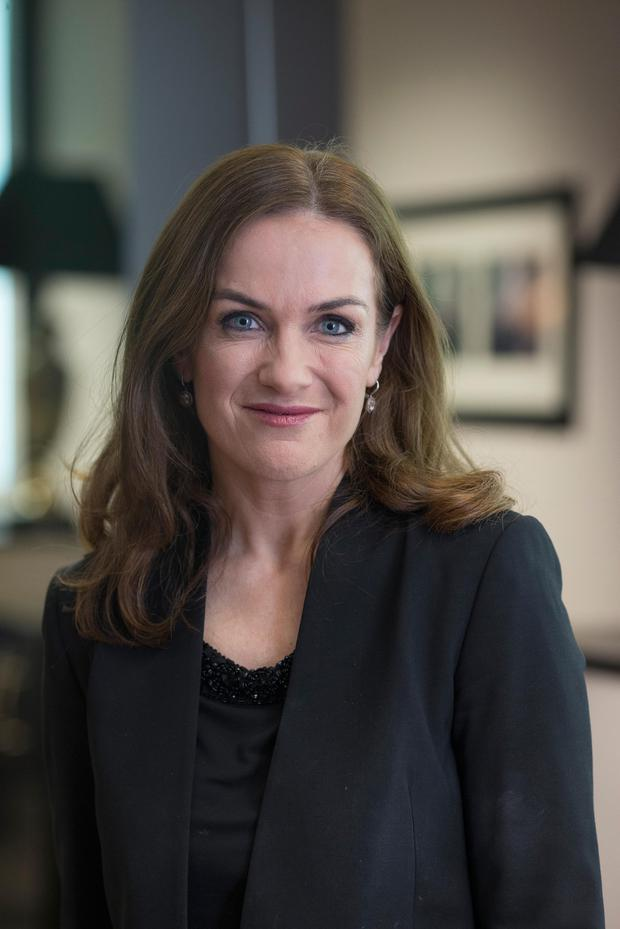 Dr Peter Boylan did not reply to the text, signed by Dr Rhona Mahony, pictured, and Nicholas Kearns. Picture: Arthur Carron