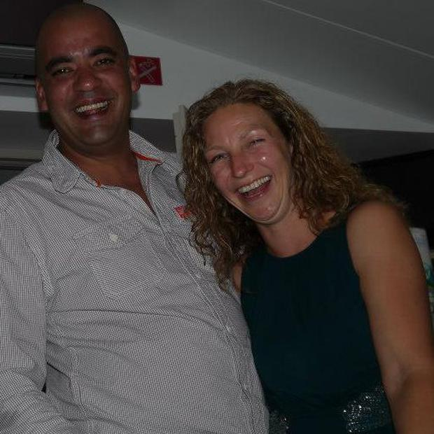 Dean Gonsalves and his wife Frankie Photo: Facebook