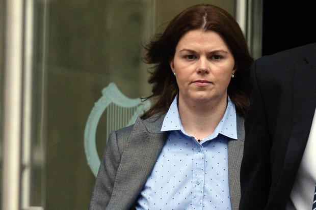 Sandra Higgins (36) of The Beeches, Drumgola Wood, Cavan, at court on Monday (Picture: Courtpix)