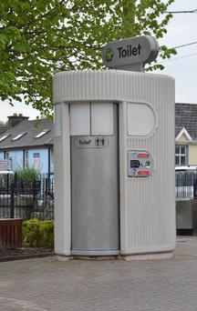 The 'superloo' in Carrigaline, only made €450 last year. Photo: Provision