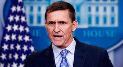 Mr Flynn has been the subject of scrutiny for his potential ties to foreign states - especially Russia. Image: AP Photo/Carolyn Kaster
