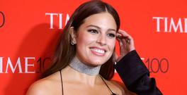 Model Ashley Graham arrives for the Time 100 Gala in the Manhattan borough of New York, New York, U.S. April 25, 2017. REUTERS/Carlo Allegri