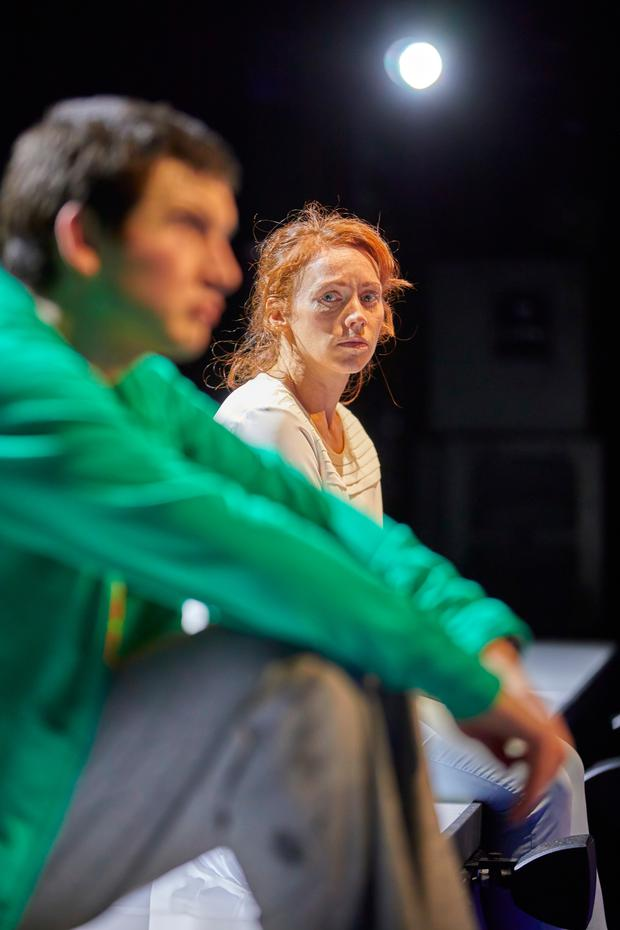 Scott Reid and Lucianne in The Curious Incident of the Dog in the Night-Time