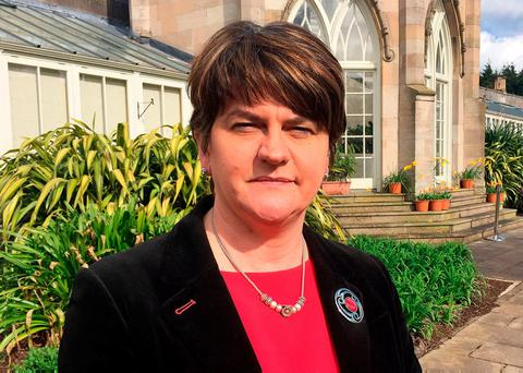 Arlene Foster Photo: David Young/PA Wire
