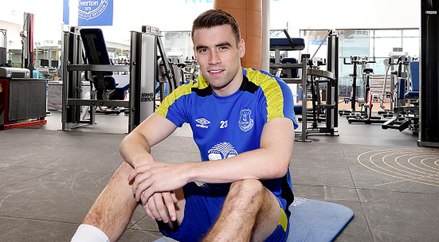 Seamus Coleman. Photo: Tony McArdle/Everton FC via Getty Images