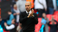 Pep Guardiola: Tough season. Photo: Nick Potts/PA Wire
