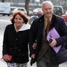 Patrick and Angela McMahon. Photo: Collins Courts