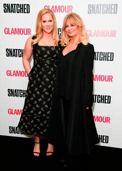 Amy Schumer and Goldie Hawn attend the