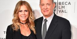 Rita Wilson and Tom Hanks attend