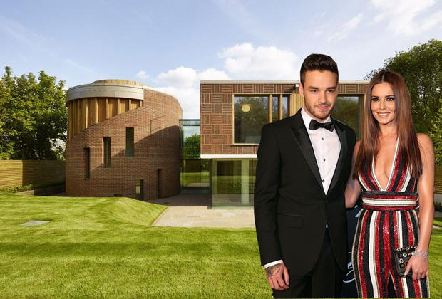 Cheryl has placed her £5m (€5.9m) mansion on the market Photo Credit: Godfrey and Barr Estate Agents; inset, Getty Images
