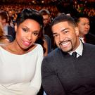 Actress-singer Jennifer Hudson (L) and pro wrestler David Otunga attend The 40th Annual People's Choice Awards at Nokia Theatre L.A. Live on January 8, 2014 in Los Angeles, California. (Photo by Frazer Harrison/Getty Images for The People's Choice Awards)