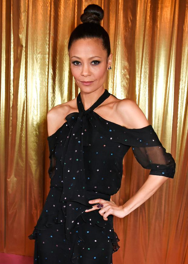 Thandie Newton attends the Elle Style Awards 2017