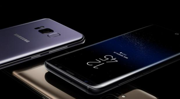 The S8 will be available in both midnight black and orchid grey in Ireland.