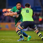 15 April 2017; Bundee Aki of Connacht is tackled by Dominic Ryan of Leinster during the Guinness PRO12 Round 20 match between Connacht and Leinster at the Sportsground in Galway. Photo by Seb Daly/Sportsfile