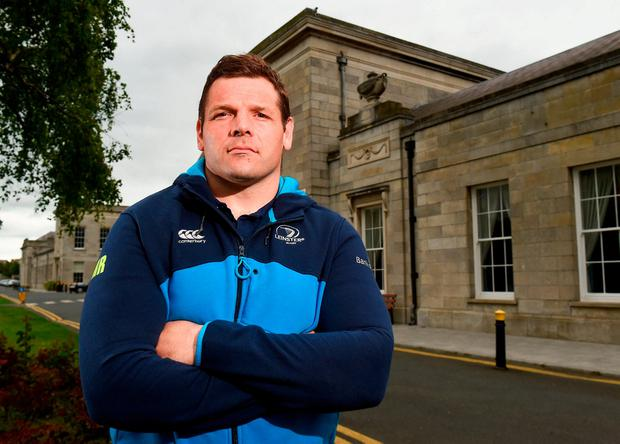 Mike Ross starts for Leinster tonight in what will be one of his final games for the province. Photo: Matt Browne/Sportsfile