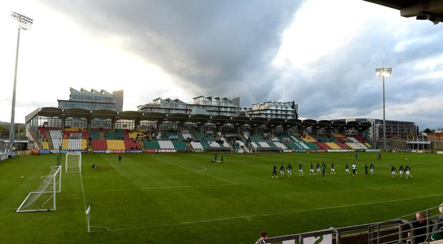 A general view of Shamrock Rovers' Tallaght Stadium. Six defeats from ten first-team games this year has resulted in criticism from outside the club. Photo: Matt Browne/Sportsfile