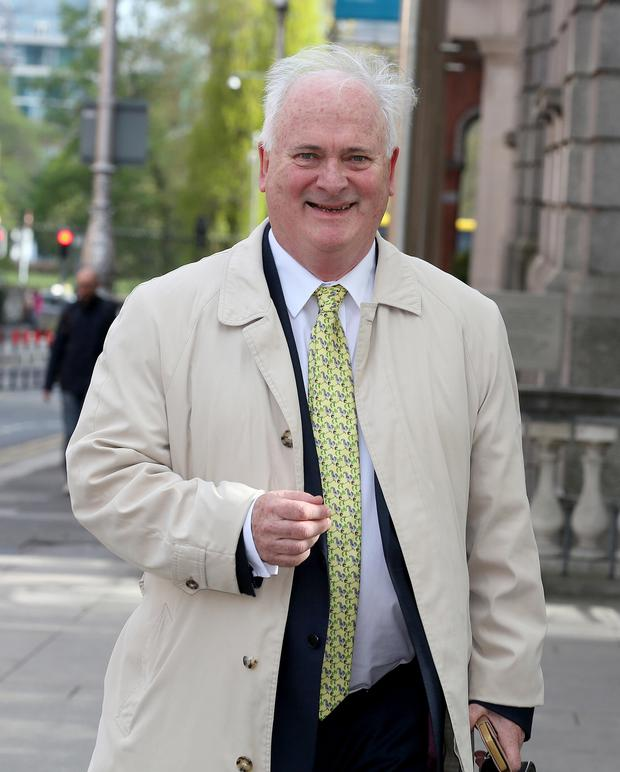 John Bruton was critical of Boris Johnson's messages to UK voters during the Brexit referendum. Photo: Tom Burke/PA