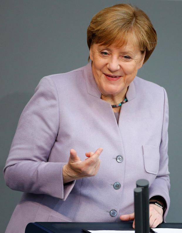 German Chancellor Angela Merkel Picture: REUTERS/Hannibal Hanschke