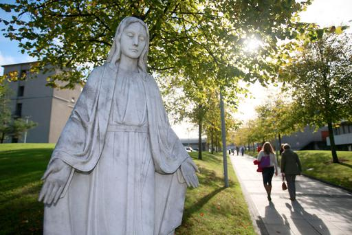 St Vincent's Hospital in south Dublin, run by the Sisters of Charity, was chosen as the site of the new National Maternity Hospital Picture: PA