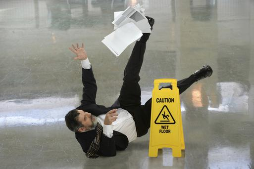 45 people were killed in workplace accidents here last year
