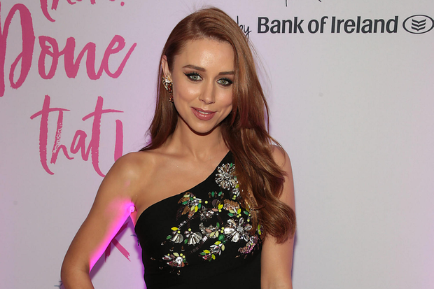 Una Healy at the Bank of Ireland Junk Kouture Final at The 3 Arena,Dublin, Pic: Brian McEvoy