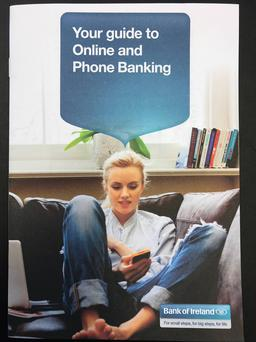 Bank of Ireland guide to online and phone banking