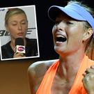 Maria Sharapova was involved in an awkward exchange with a Sun journalist